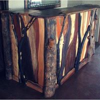 Rustic Bush Bar