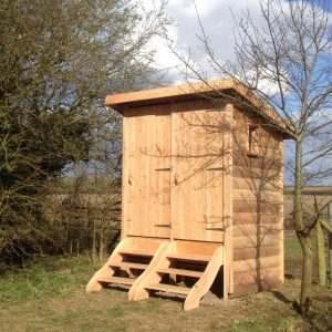 twin compost toilet