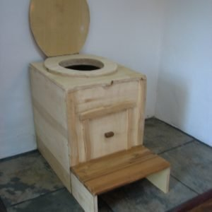 portable composting toilet