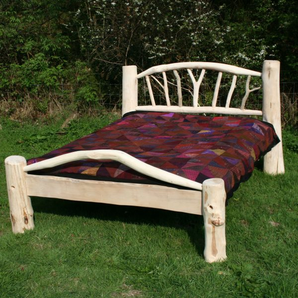 Driftwood tree bed