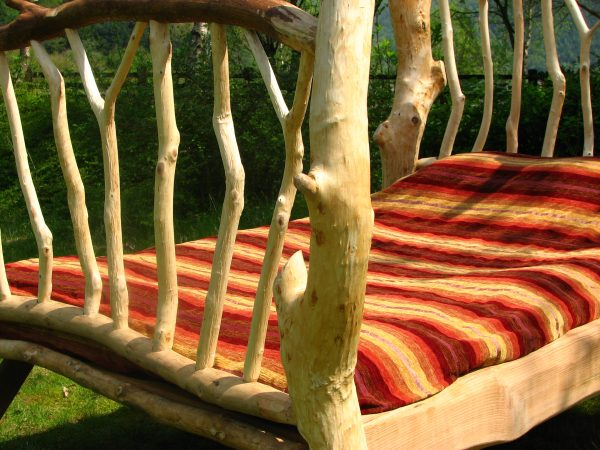 Willow Driftwood bed