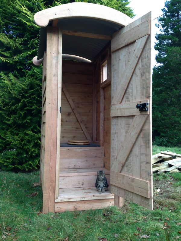 basic composting toilet