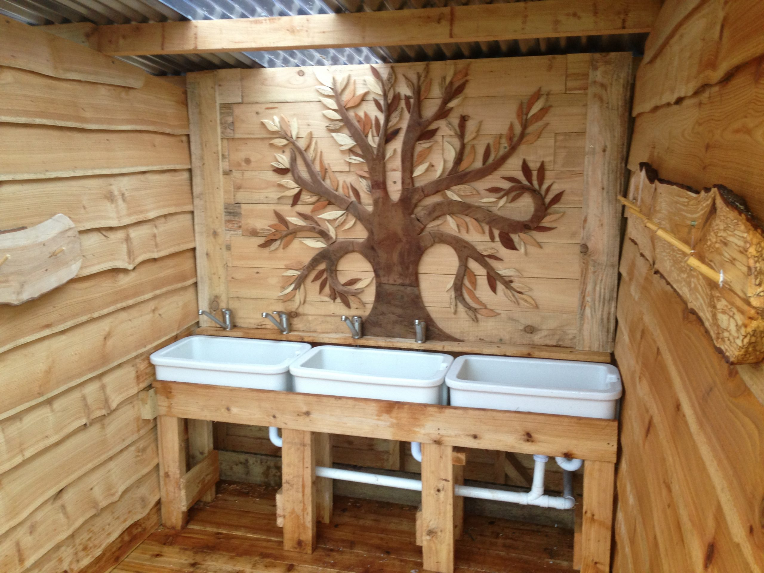 disabled compost toilet