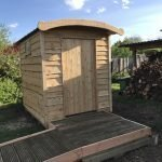 disabled composting toilet