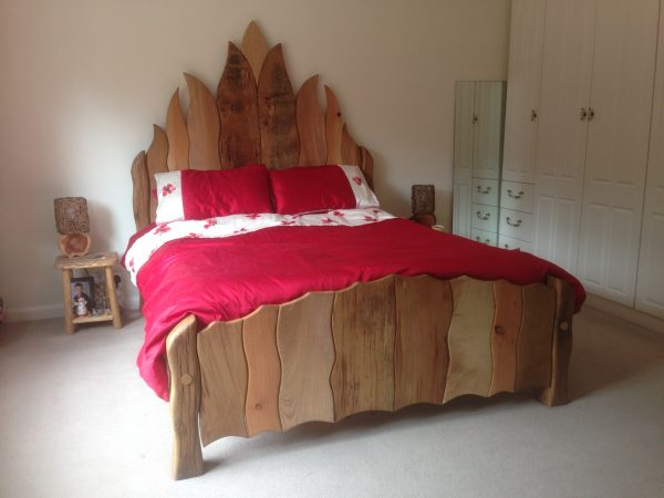 flame bed