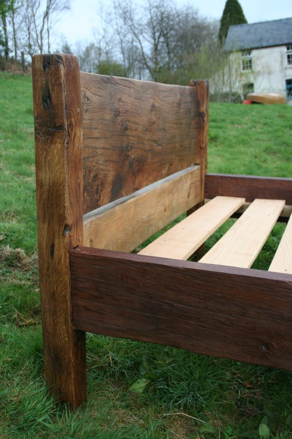 Reclaimed Wooden Bed